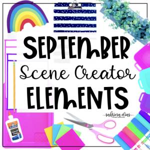 September Mockup Scene Creator